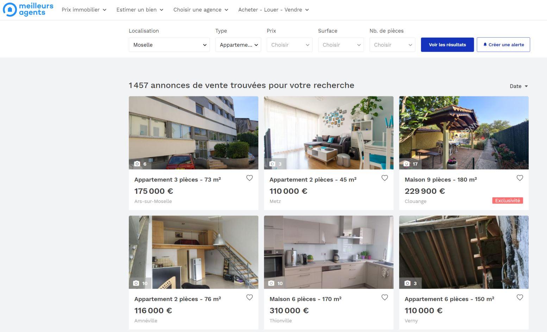 annonces immobilières meilleursagents vente et location