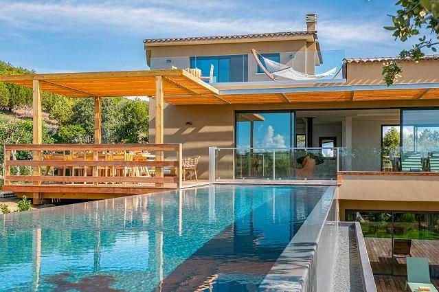 location de vacances corse villa de charme azuela bonifacio