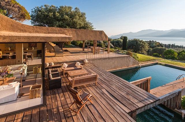 location villa de luxe du cap corse