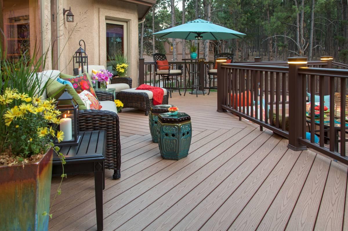 3 solutions design et faciles d'entretien en bois composite