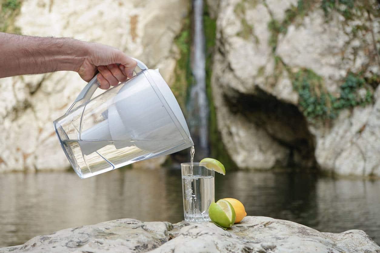 carafe filtrante eau